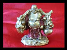 LAUGHING BUDDHA AND FATHER CHRISTMAS